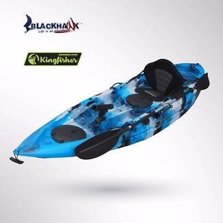 Everest Blackhawk 2.7m 3m Double Single Sit-On Kayak Package