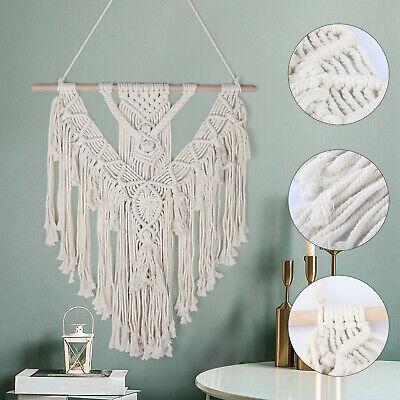 Handmade Macrame Woven Wall Hanging Tapestry Bohemian Boho Chic Home Art Decor