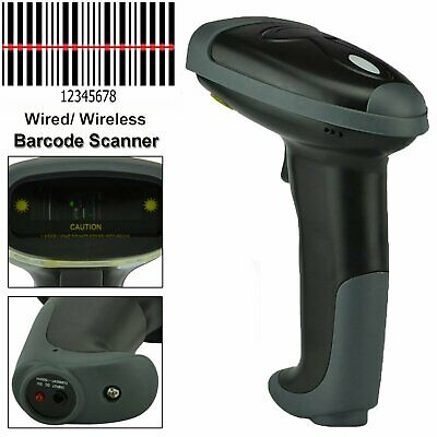 Us Portable Wireless Barcode Scanner Laser Wifi Reader Handheld Scan Usb For Pos