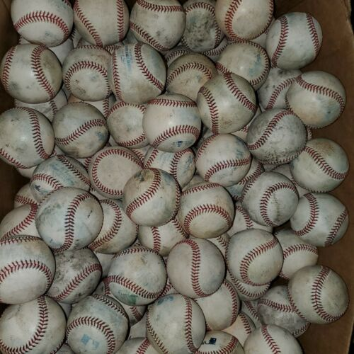 (20) Minor League Used Baseballs lot Rawlings milb