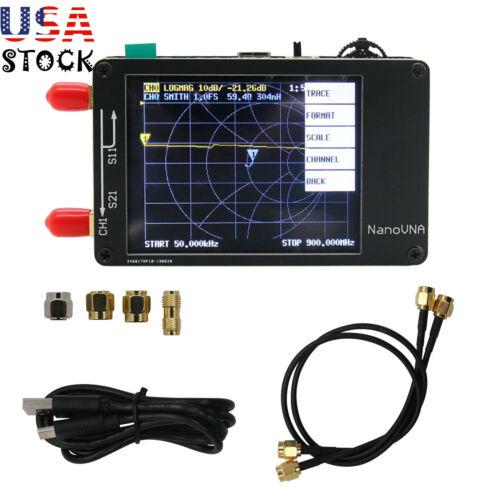 """2.8"""" NanoVNA Vector Network Analyzer 50KHz-900MHz HF VHF UHF Antenna Analyzer US"""