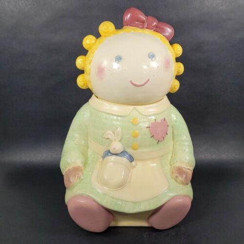 Treasure Craft Sugar Rag Doll Cookie Jar Vintage