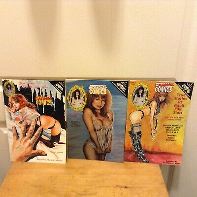 CARNAL COMICS: SARAH-JANE HAMILTON Parts 1, 2 and 3 from 1994