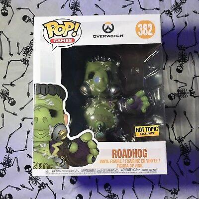 Funko POP Games - Overwatch Halloween Roadhog Vinyl Figure Hot Topic Exclusive - Pop Halloween Games