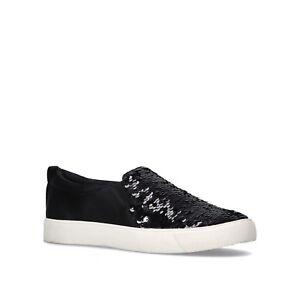 Carvela Ladies Shoes Size 4 Black Pumps Kurt Geiger Sequin Fashion Trainers NEW