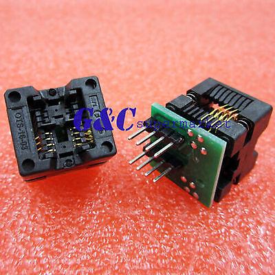 15 Soic8 Sop8 To Dip8 Ez Programmer Adapter Socket Converter Module 150mil M125