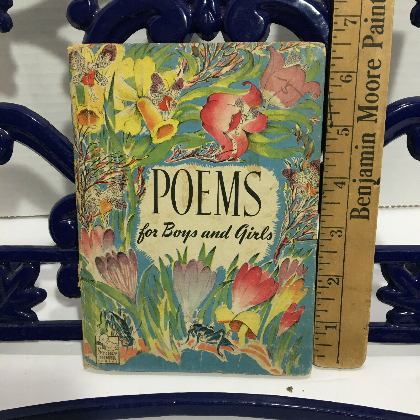 Poems For Boys And Girls, HC, Story Hours Series, Barrows, 1945 - $10.00