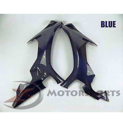 DISCOUNT 2015-2019 R1 R1S Front Side Panel Radiator Cover Fairing Carbon Fiber