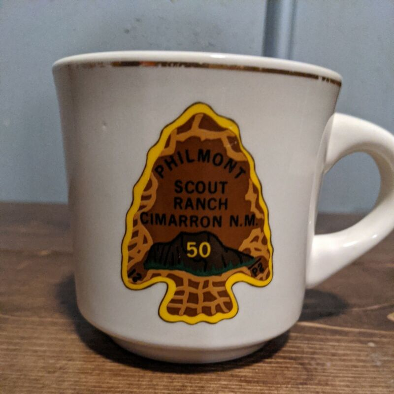 Philmont Scout Ranch 50th Anniversary Cimarron N.M. Coffee cup mug