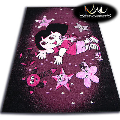 Cheap Purple Carpet (THICK RUGS 'PILLY' CARPETS ORIGINAL PURPLE STARS FAIRY FOR KIDS CHEAP)