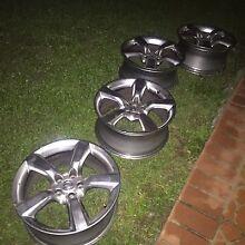 "18"" Nissan 350z 35th Anniversary Wheels GENUINE JDM 5x114.3 Acacia Gardens Blacktown Area Preview"