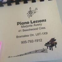 Music lessons MARJORIE S PIANO LESSONS RCM