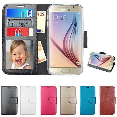 Samsung Book Tasche Case Handy Klapp Schutz Hülle Silikon Rahmen Wallet Neue Mod Neue Wallet Case