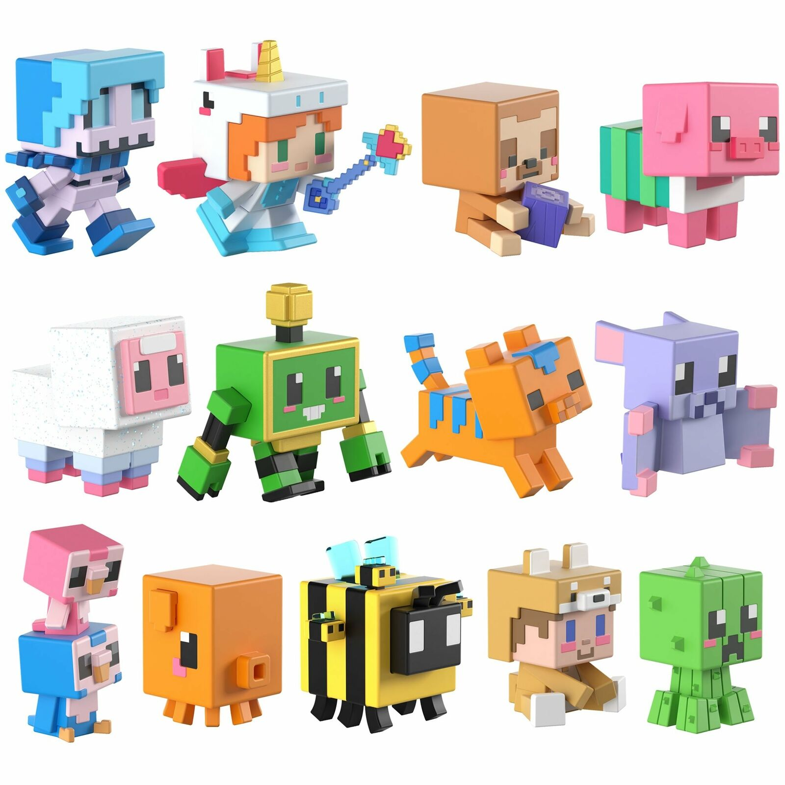 Minecraft Cute Series 18 Blind Box MiniFigures You Pick