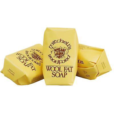 Mitchell's Wool Fat Soap Original Lanolin Hand Soap Set (Boxed)