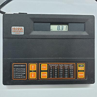 Hanna Instruments Hi8521 Microprocessor Phmv Meter Bench-top Hi 8521