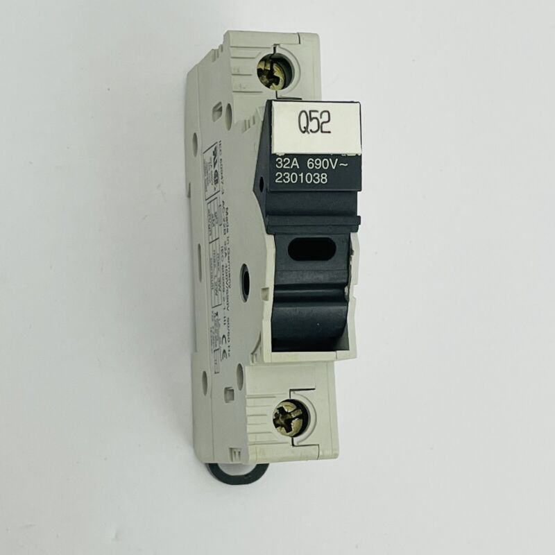 ItalWeber 2301038 Fuse Holder 1-Pole 32A 690V BCH 1x38 10x38 ~Good Used~