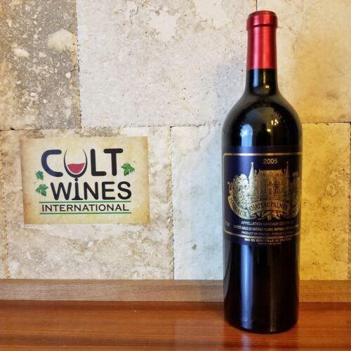RP 98 pts! 2005 Chateau Palmer Bordeaux wine, Margaux