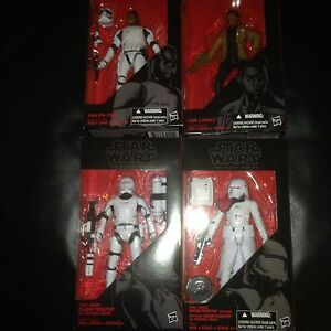 "Star Wars Black Series figure Lot 6"" 3.75"" Empire sealed"