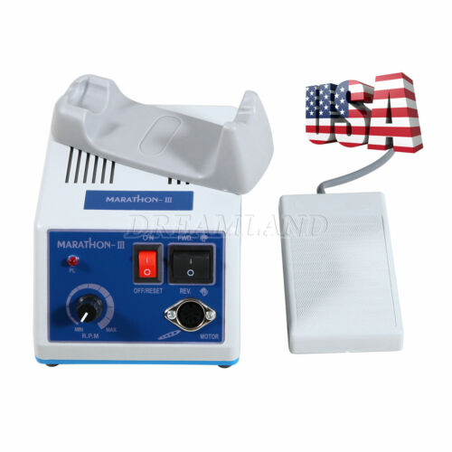 Lab Electric Micromotor Polishing Fit for Marathon 35K RPM ( No handpiece) OR-M3