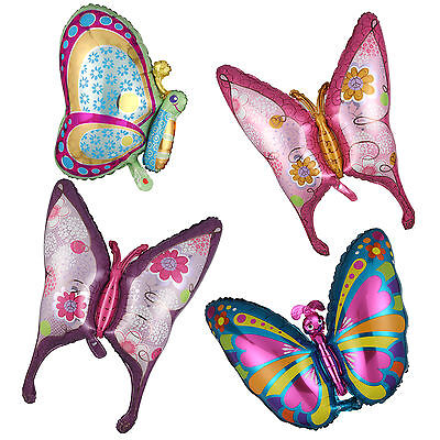 1 x Butterfly Shape Foil Balloon Birthday Wedding Party Festival Room Decoration](Butterfly Balloon)