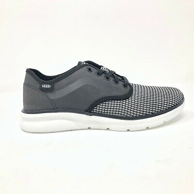Vans ISO 2 Rapidweld Black True White UltraCush Skate Shoes Mens Size 11