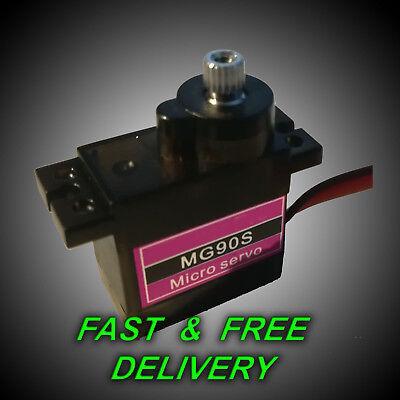 Metal Geared Micro RC Servo Upgrade Hop up gear Mini hobby Gears UK STOCK Radio