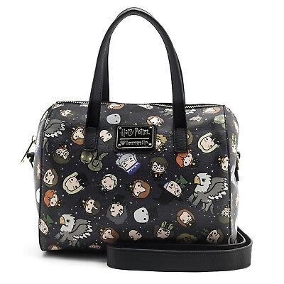 Loungefly Harry Potter Ron Hermione Chibi Characters Duffel Bag Purse - Hermione Bag