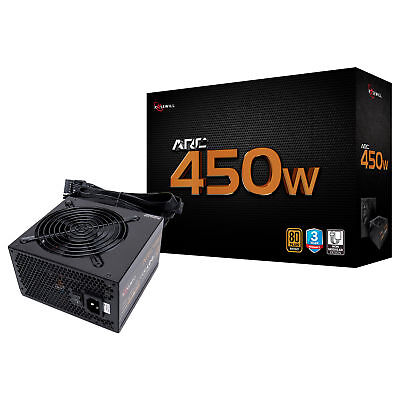 Rosewill 450 Watt Gaming Computer Power Supply, 80 Plus Bronze PSU, ARC 450