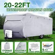 Heavy Duty 20-22 ft 4 Layer Caravan Campervan Cover UV Carry Bag Adelaide CBD Adelaide City Preview