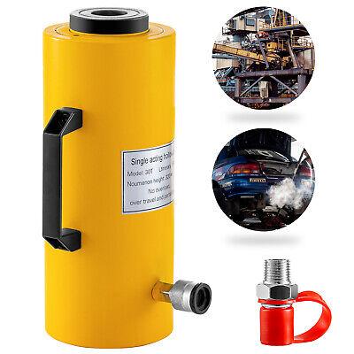 Vevoe Hydraulic Cylinder Jack Hollow Ram Hydraulic Cylinder 30t 6 Lifting
