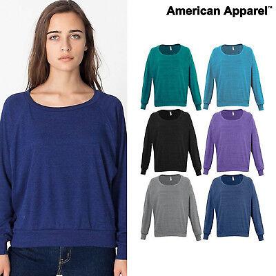 American Apparel Triblend rib lightweight raglan pullover (BR394) Women's - American Apparel Raglan Pullover