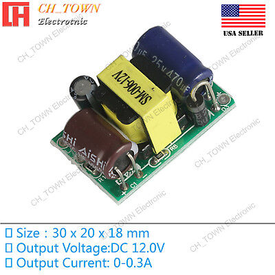 Ac-dc 12v 300ma 3w Power Supply Buck Converter Step Down Module High Quality Usa