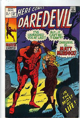 Daredevil    #57    VFN    Daredevil Revealed