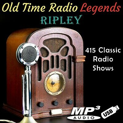 Old Time Radio Ripley 415 Shows On USB Flash Drive