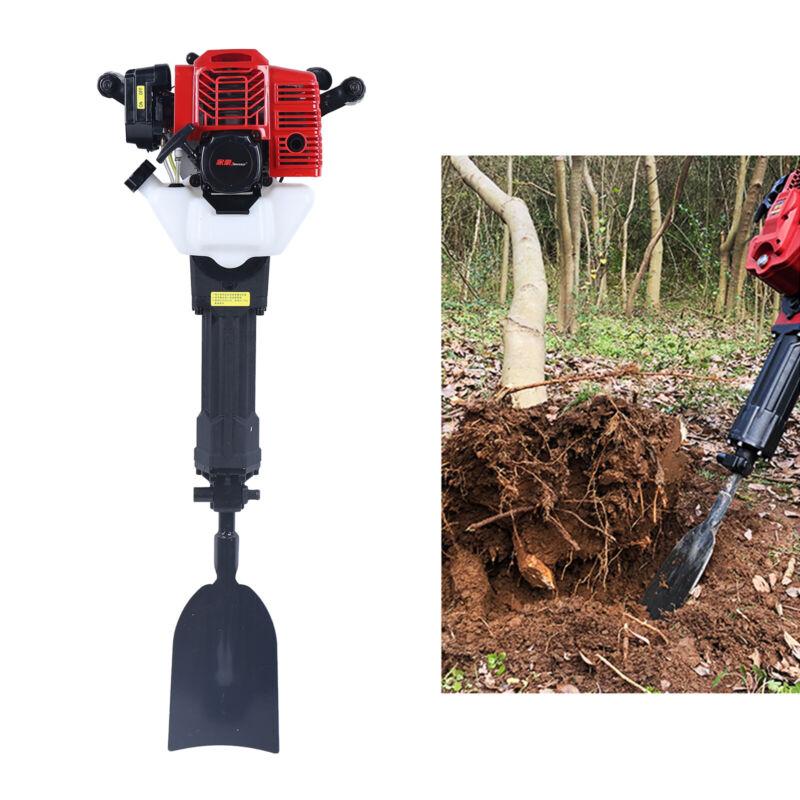 52CC Gasoline Portable Garden Tree Digger Post Drill Digging Machine 1500bpm