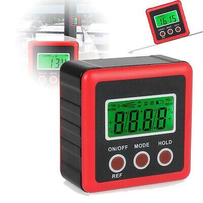 4 90 Digital Inclinometer Level Box Protractor Angle Finder Bevel Gauge Magnet