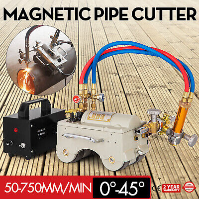 Cg2-11 Automatic Magnetic Pipe Gas Cutting Beveling Machine Torch Track Burner