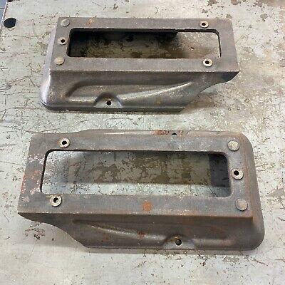 Pair Of Atlas Craftsman 10 Metal Lathe Bench Legs Feet 10d-150