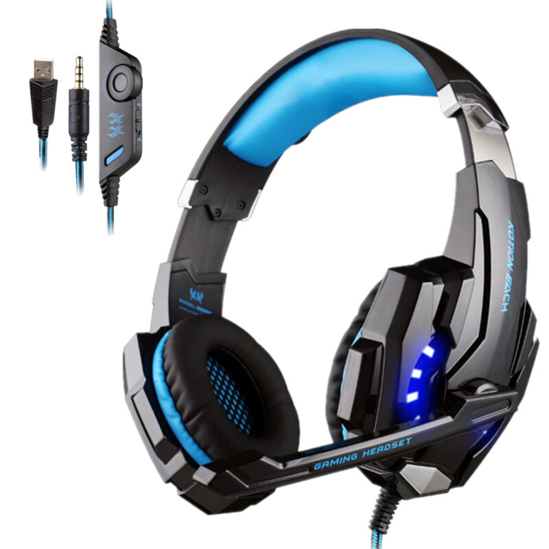 Details about EACH G9000 Pro Gaming Headset 3 5mm Surround Headphone w/Mic  for PS4 Xboxone PC