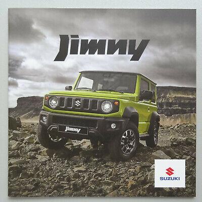 V21084 SUZUKI JIMNY - CATALOGUE - 2018-19 - 20x20 - B FR