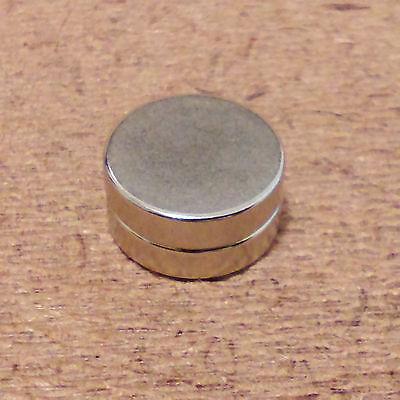 2 N52 Neodymium Cylindrical 12 X 18 Inch Cylinderdisc Magnets.