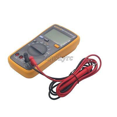 Fluke 15b Ac Dc Dmm Meter Auto Range Digital Multimeter Voltage Current Sz Tops