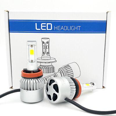 H11 H9 H8 1955W 293250LM  CREE LED Headlight Kit Low Beam 6000K White High Power
