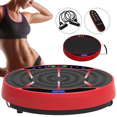 Full Body 3D Vibration Plate Platform Exercise Machine Plate Massager Fitness RC Body Vibration Platform