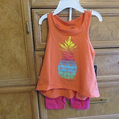 infant girls Nautica 2 piece shorts tank top size 12M brand new NWT $38.00