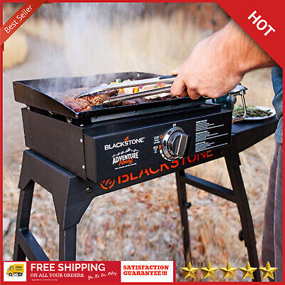 Blackstone 17 In Table Top Burner Portable Grill Stainless Steel Cooking Camping ()