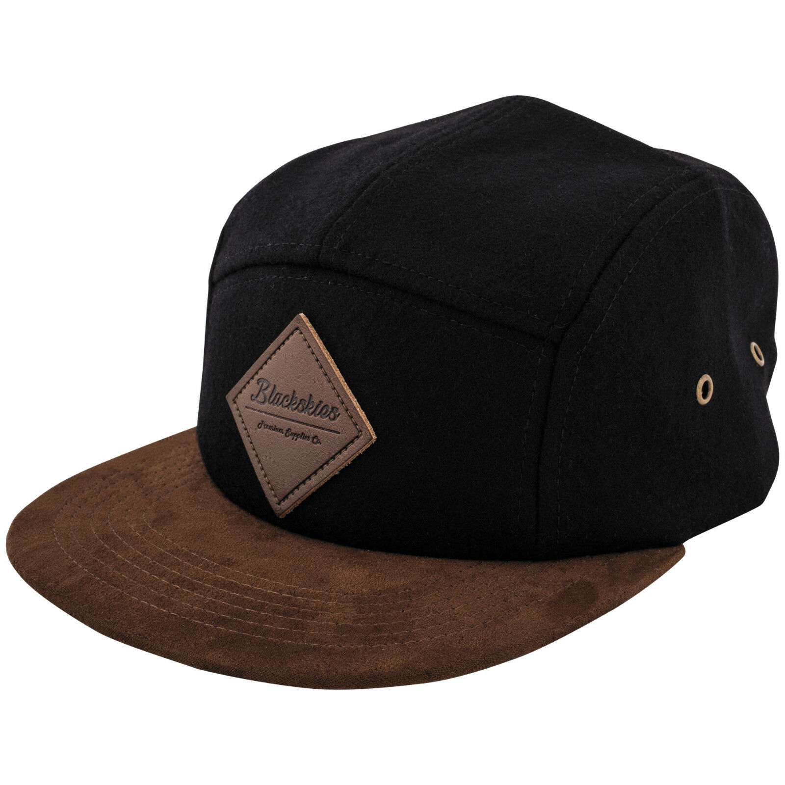Blackskies Grounded 5-Panel Cap Anker Mütze Strapback Baseball ... 819c95991a