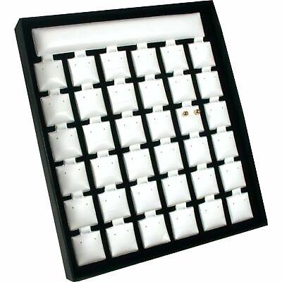 36 1 X 1 Earring Card Pads Tray Showcase Jewelry Display 7 12 X 8 916
