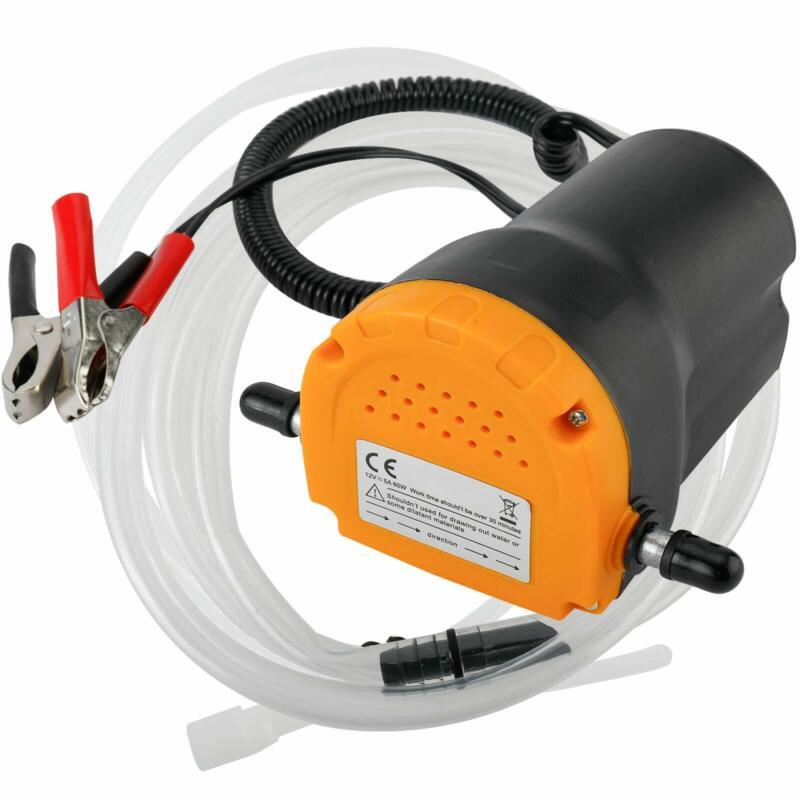 Amarine Made 12V 60W Oil Change Pump Extractor, Oil/Diesel Fluid Pump Extractor